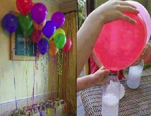 Cara Membuat Balon Gas Tanpa Menggunakan Oksigen