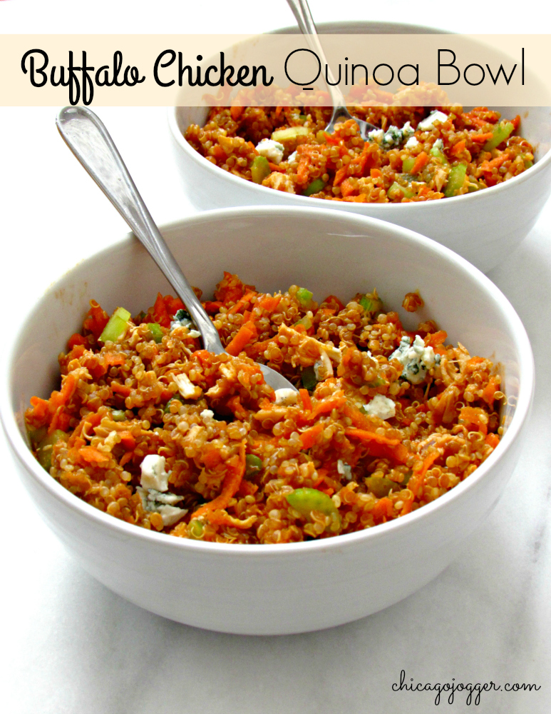 Buffalo Chicken Quinoa Bowls Chicago Jogger