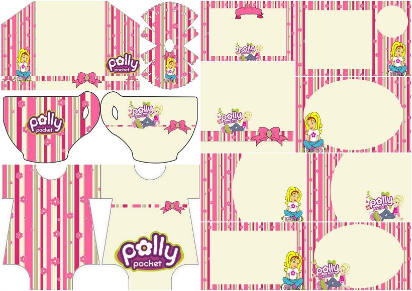 photograph about Pocket Pattern Printable identify Polly Pocket: Cost-free Printable Invites. - Oh My Fiesta! inside of