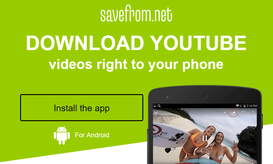 Download YouTube Video by mobile Phone - Epateletech