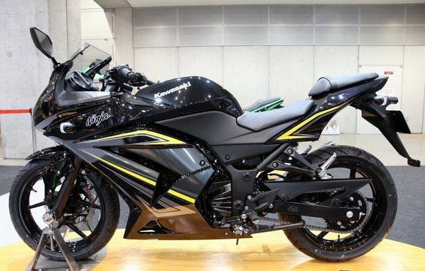Kawasaki Ninja 250 CC Hitam