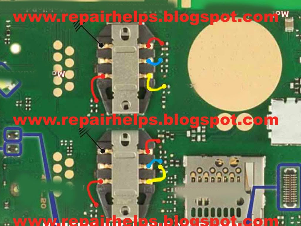 Repair Helps Nokia 220 Insert Sim Problem Jumper Ways