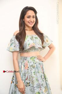 Actress Pragya Jaiswal Stills in Floral Dress at turodu Interview  0107.JPG