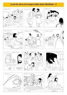 la vie de Jésus selon Saint Matthieu page 3