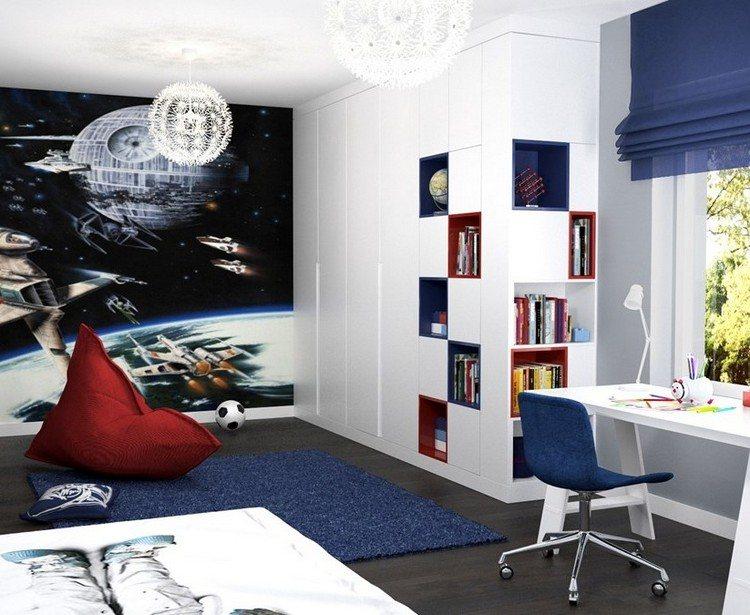 Dormitorios juveniles con murales dormitorios colores y for Mural habitacion juvenil