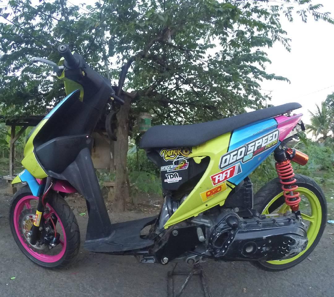 Modifikasi Honda Beat Karbu Road Race Mobiliobaru