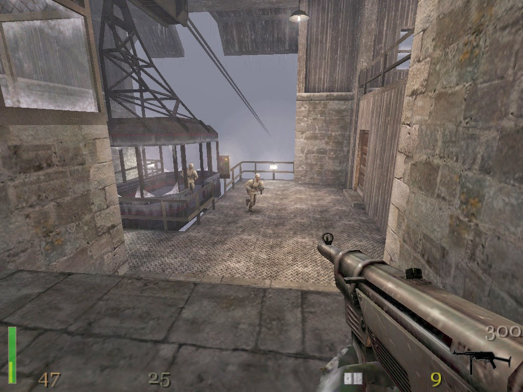 شرح تحميل وتتبيث لعبة Return to Castle Wolfenstein مضغوطة