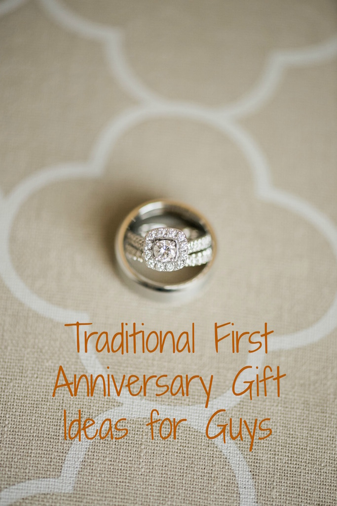 Five First Anniversary Presents For Guys