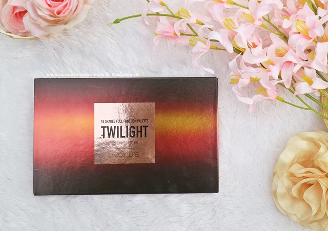 Review Focallure Twilight 18 Eyeshadow Pallete