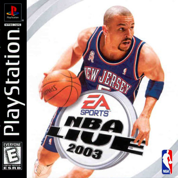 NBA Live 2003 - PS1 - ISOs Download