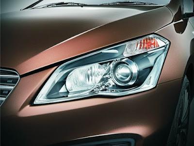 New Maruti Suzuki Ciaz front Headliht