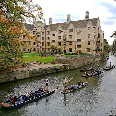 Punting en Cambridge
