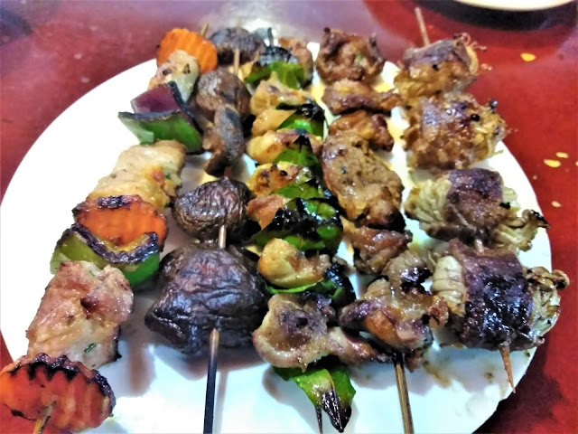 bbq skewers food sapa vietnam