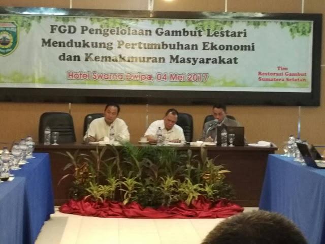 Najib Asmani : Dengan PP 57 Tahun 2016 Tentang Pengelolaan Gambut Diharapkan Mendukung Pertumbuhan Ekonomi