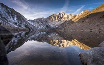 Wallpaper: 4K View over the Convict Lake