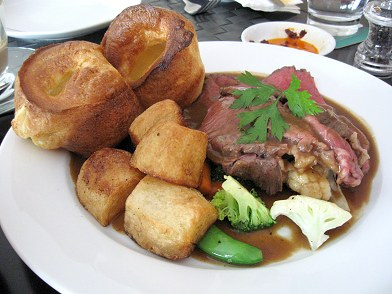 Sunday Roast Beef with Mini-Yorkshire Puddings