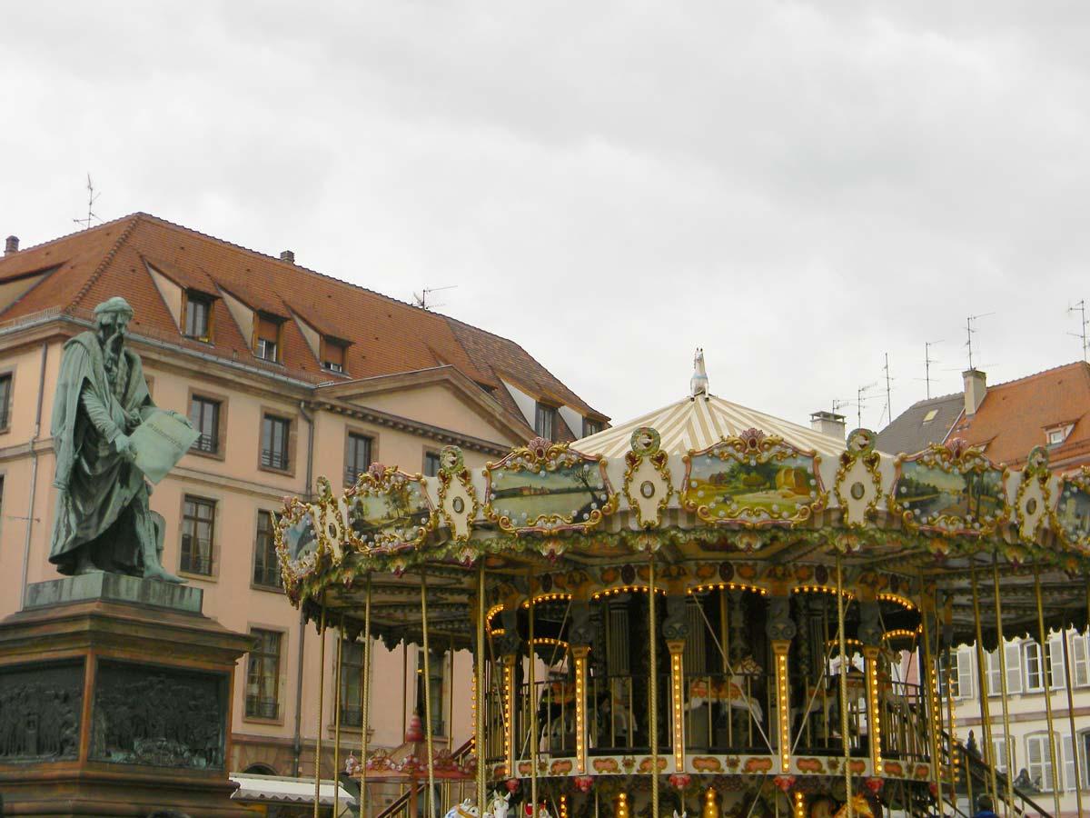Carousel, Strasbourg automne