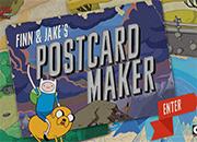 Jake y Finn Postcard Maker juego