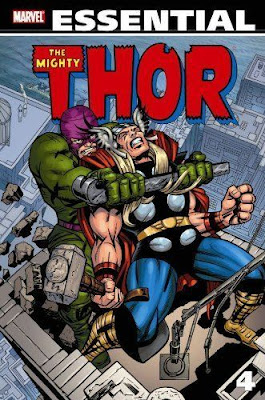 Essential Thor Volume 4, cover
