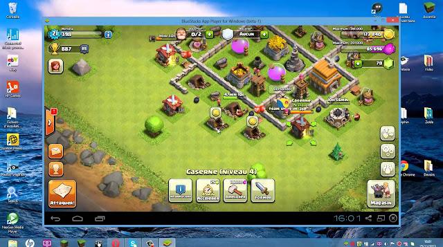 تحميل لعبة كلاش اوف كلانس للكمبيوتر 2017 Download clash of clans computer