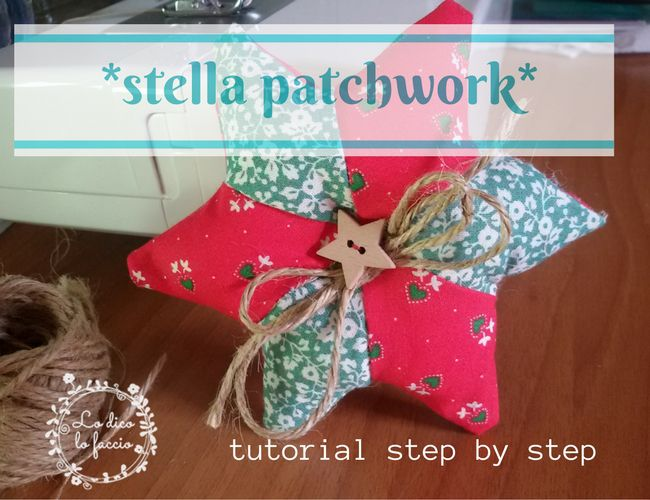 Stella patchwork (tutorial)