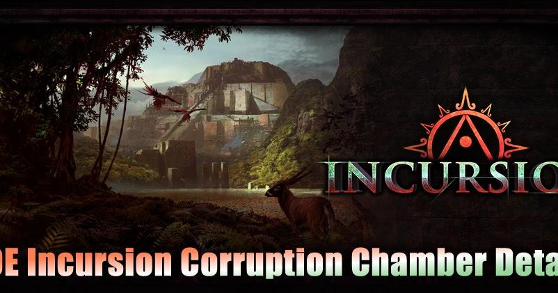 Poe Incursion Corruption Chamber Details