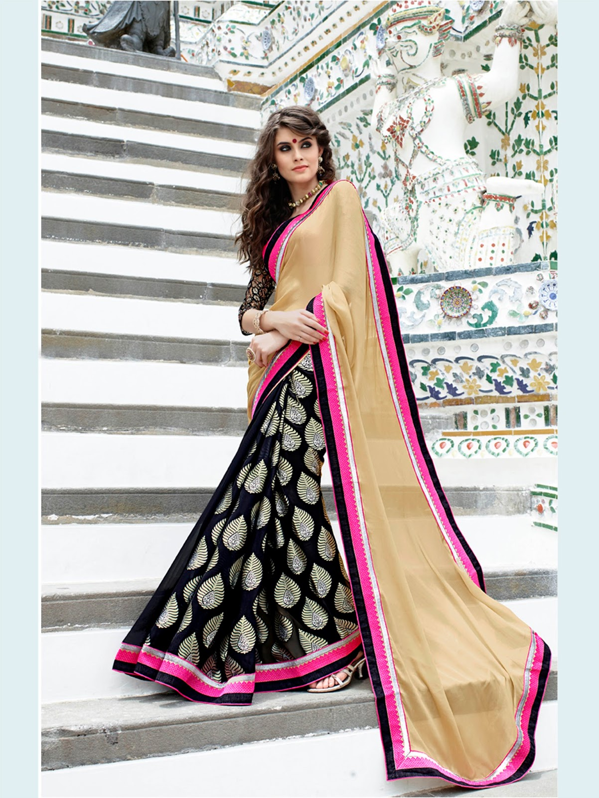 Heritage – Fancy Look Designer Saree Buy Online