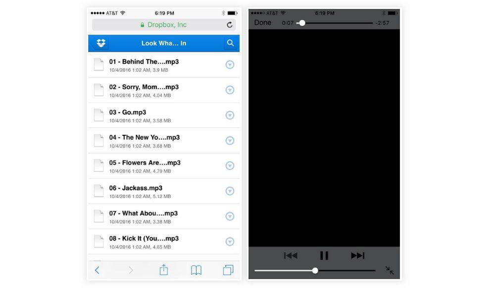 Aplikasi Dropbox untuk Memutar Musik (gadgethacks.com)