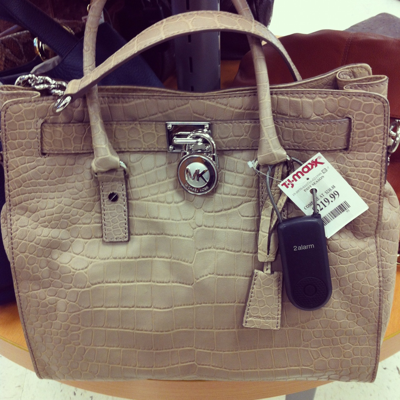 Looking Back Forward Michael Kors Hamilton Tote