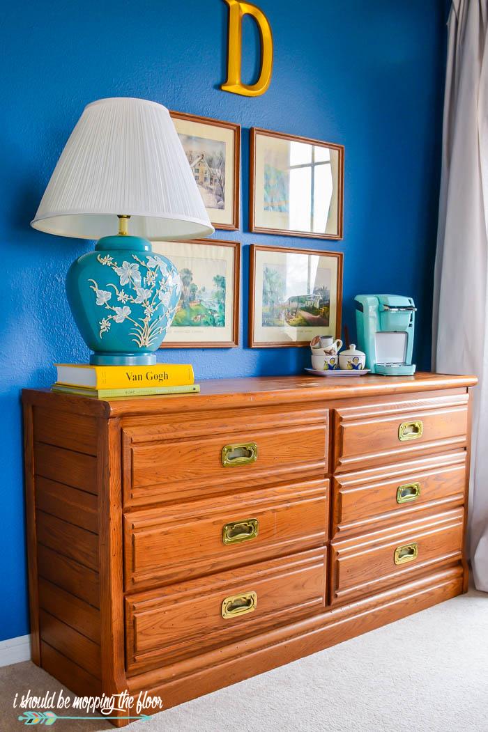 Camp-Style Dresser