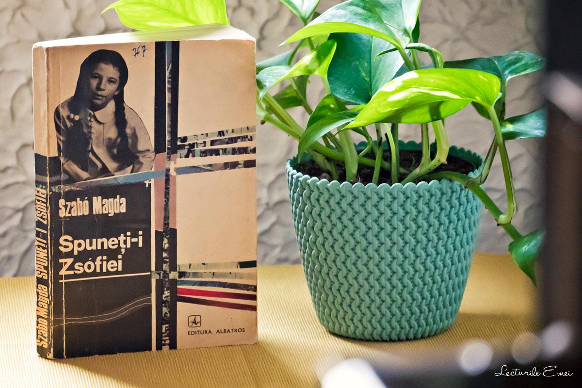 carte recenzie Spuneți-i Zsófiei Magda Szabó