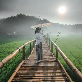 foto bersama payung