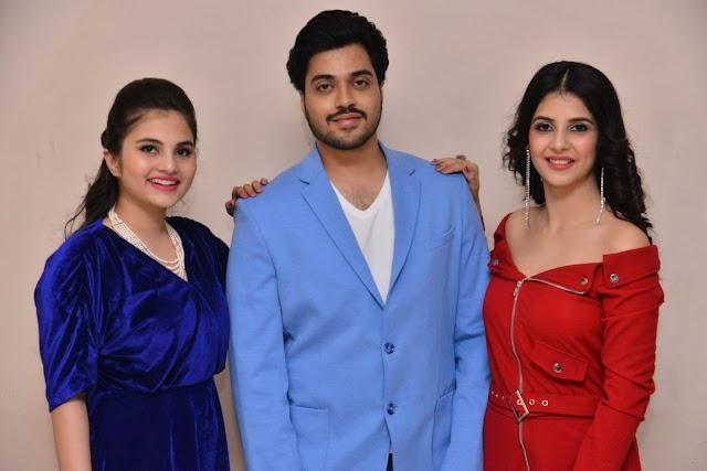 First Rank Raju Movie Teaser Launch Photos