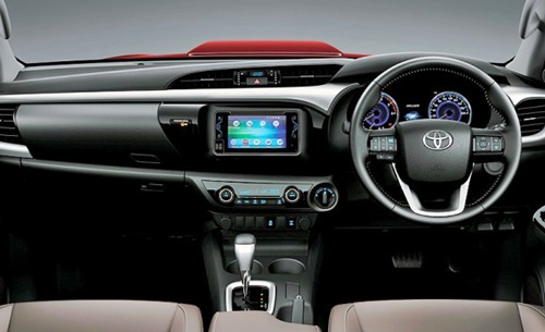 GIIAS 2015: All New Hilux Technology