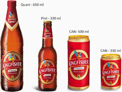 Image result for 3 beers kingfisher