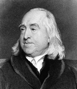Jeremy Bentham, ο ιδεολογικός αρχηγός της Γραικικής Επιτροπής του Λονδίνου