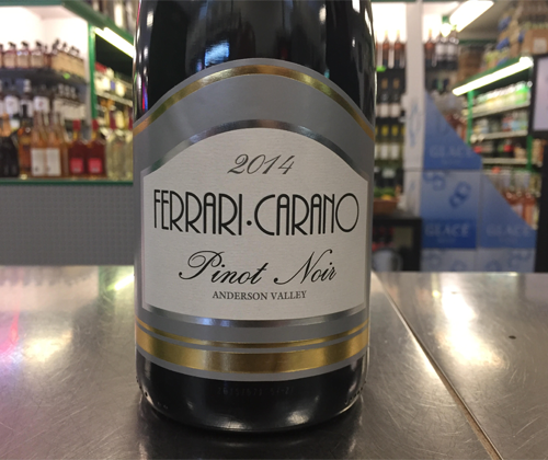 September Wine Pick: Ferrari Carano Anderson Valley Pinot Noir 2014