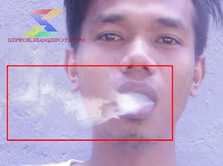 membuat asap rokok dengan cepat