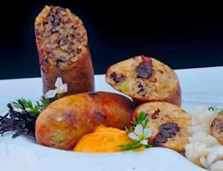 """Cocina Ecuatoriana - Morcillas caseras de la abuelita """"Mama Grande"""""""
