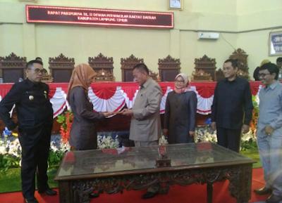 RAPBD Kabupaten Lampung Timur 2018 Defisit Anggaran 50 Milyar