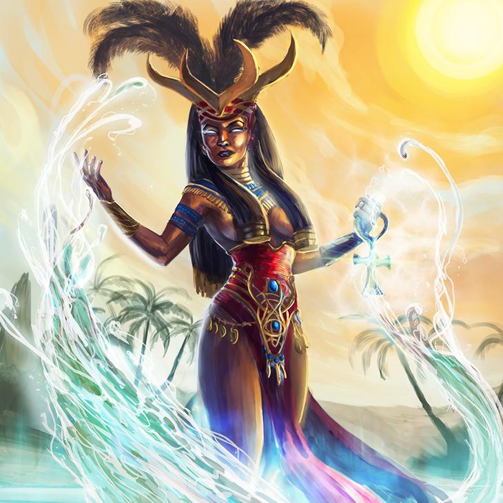 Anuket,mitoloji, mısır mitolojisi, Nil tarlalarının besleyicisi,Nil tanrıları,Nil tanrıçaları,Ra'nın kızı,Ra'nın gözü,Tanrıça Anuket,Anuket festivali,Mısır Tanrıçaları,Mısır av tanrıçası, N.Kara,