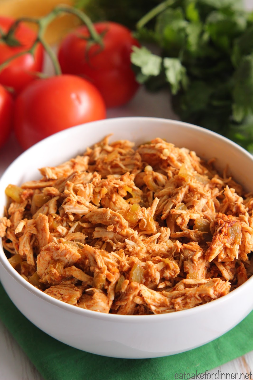 how to cook shredded chicken in slow cooker