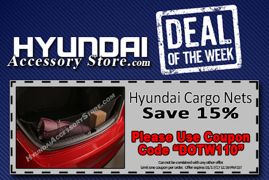 Deal Of The Week: Save 15% on Cargo Nets & more!