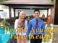 Zarul Husin, Siti Elizah dan Fasha Sandha Pelakon Drama Syurga Yang Kedua