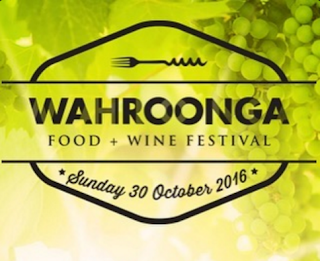 Poster for Wahroonga Food & Wine Festival 2016