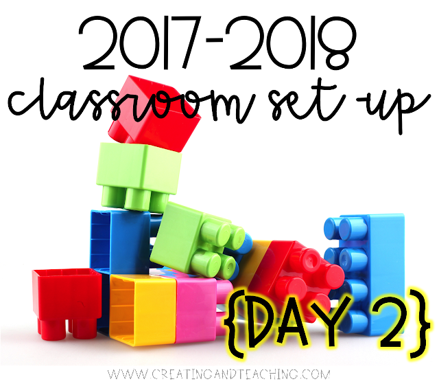 Classroom Set-Up 2017-2018 {Day 2}