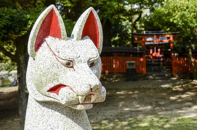 Kitsune (?) El zorro del folclore japonés