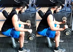 Ejercicio para trabajar los músculos extensores de los antebrazos