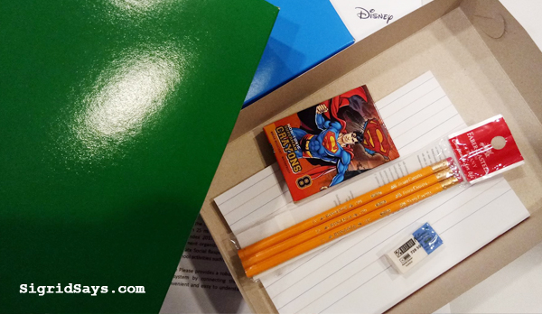 Time Please - Globe Telecom - Disney - free trip - volunteerism - back to school care box