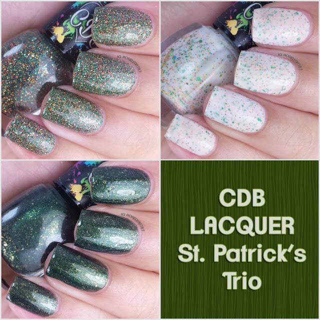 CDB Lacquer - St. Patrick's Trio